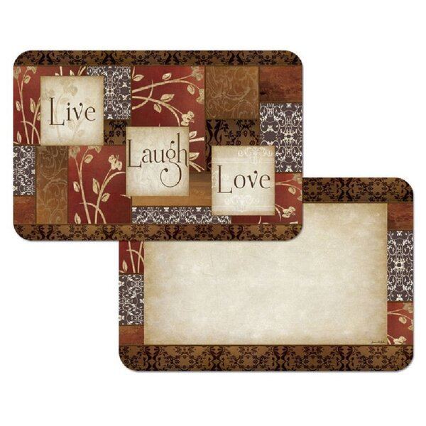 Spice of Life Reversible Wipe Clean Plastic Placemat (Set of 4) by CounterArt