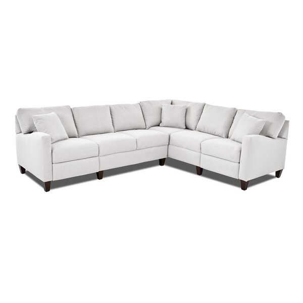 William Reclining Sectional by Wayfair Custom Upholstery™