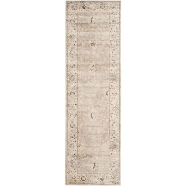 Talmont Light Gray/Ivory Area Rug by Lark Manor