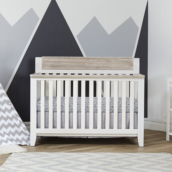 Hayes 4-in-1 Convertible Crib by Suite Bebe