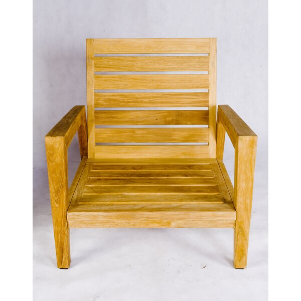 Teak Stafford Arm chair by Les Jardins
