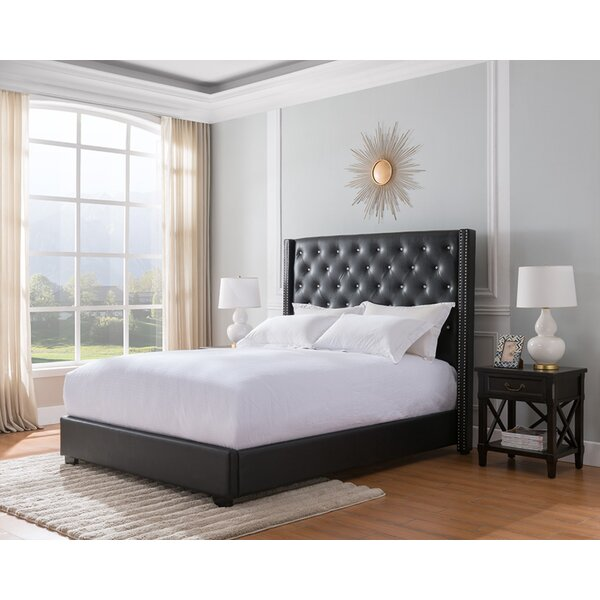 Mohammad Upholstered Standard Bed by Rosdorf Park