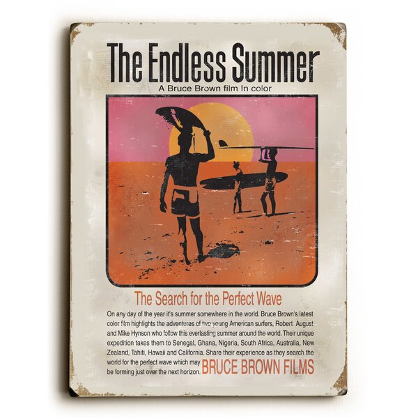 Endless Summer Movie Vintage Advertisement by Artehouse LLC
