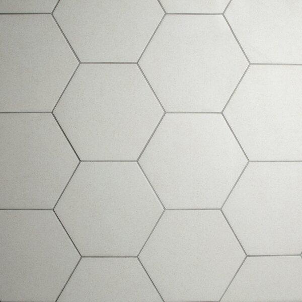 Annata 8.63 x 9.88 Porcelain Field Tile in Blanco by EliteTile