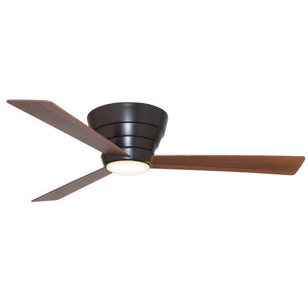 54 Malik 3 Blade Ceiling Fan with Remote by Ivy Bronx