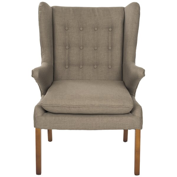 Gomer Wingback Chair by Safavieh