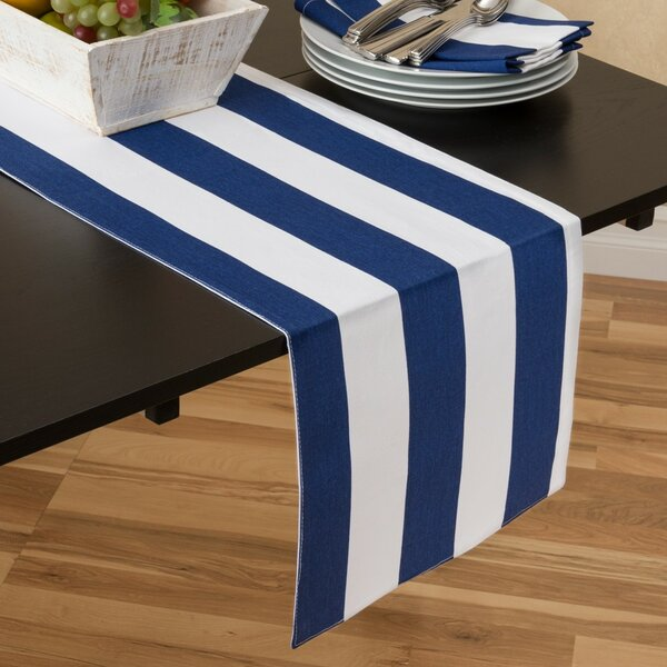Stripes Table Runner by Linen Tablecloth