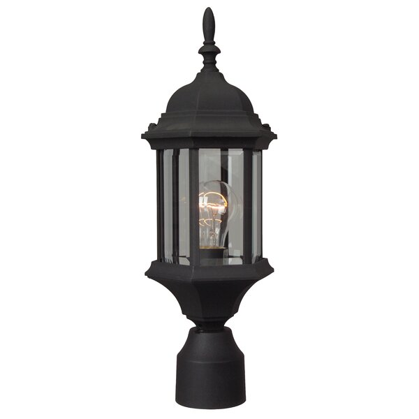 Oakhill 6.5 Outdoor Post Lantern by Charlton Home