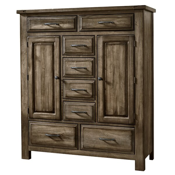 Fairfield 8 Drawer Gentlemans Chest by Loon Peak