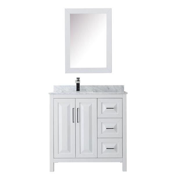 Daria 36 Single Bathroom Vanity Set with Medicine Cabinet by Wyndham CollectionDaria 36 Single Bathroom Vanity Set with Medicine Cabinet by Wyndham Collection