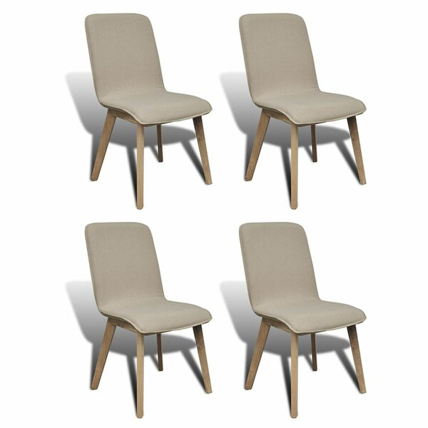 Parkinson Upholstered Dining Chair (Set of 4) by Gracie Oaks