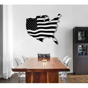 United States Map Wall Decal   Wayfair