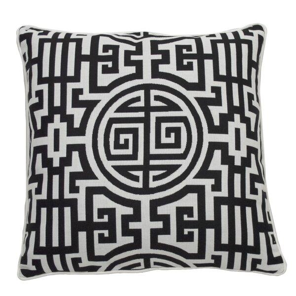 Down Geometric Throw Pillow