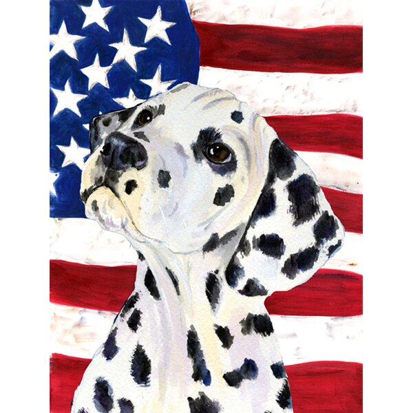 American 2-Sided Polyester 15 x 11 in. Garden Flag