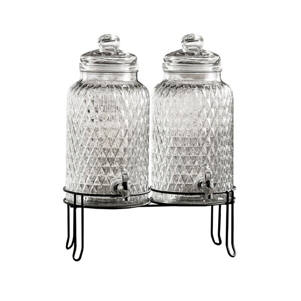 Ismail Beverage Dispenser (Set of 2) by Charlton Home