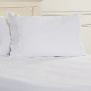 400 Thread Count Egyptian Quality Cotton Solid Pillowcase (Set of 2)