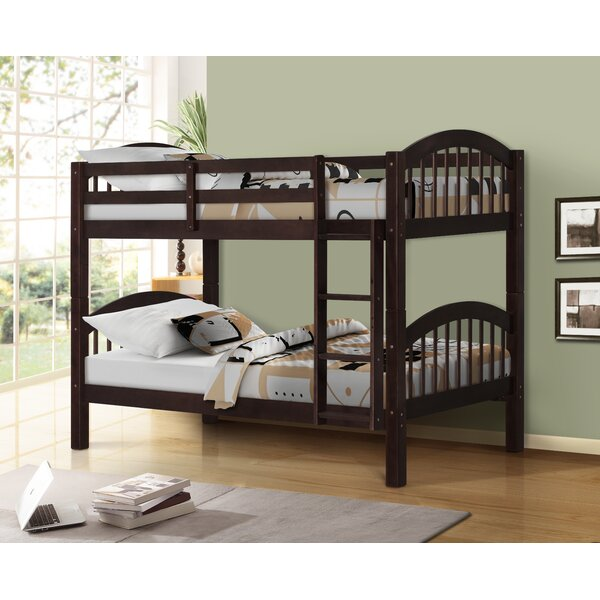 Lemeiux Twin over Twin Bunk Bed by Latitude Run