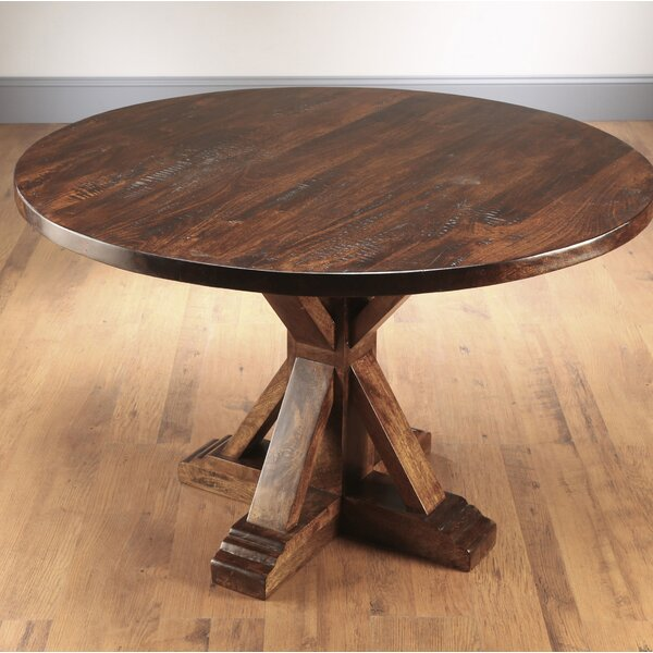 Rebeca Solid Wood Dining Table by Ophelia & Co. Ophelia & Co.