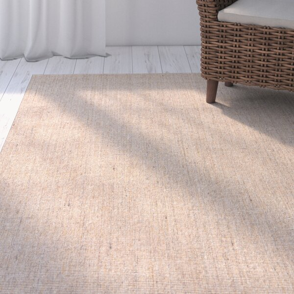 Bay State Hand-Woven Gray/Brown Area Rug by Highland Dunes