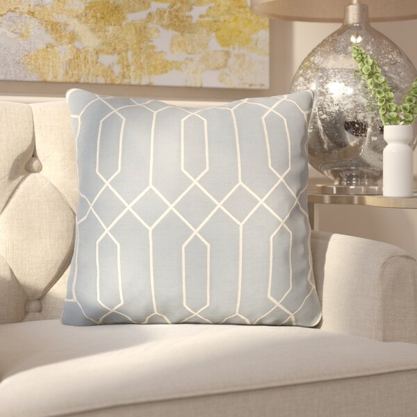 Kaivhon Geometric Linen Throw Pillow by Willa Arlo Interiors