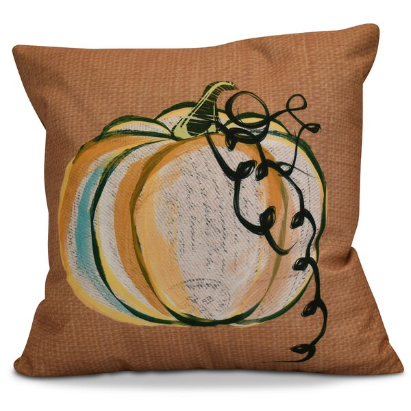 Miller Pumpkin Fest Throw Pillow by Alcott Hill