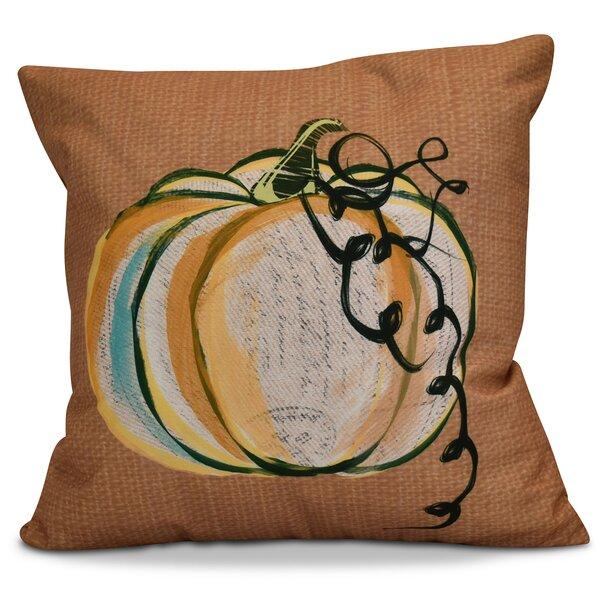 Miller Pumpkin Fest Throw Pillow by Alcott Hill