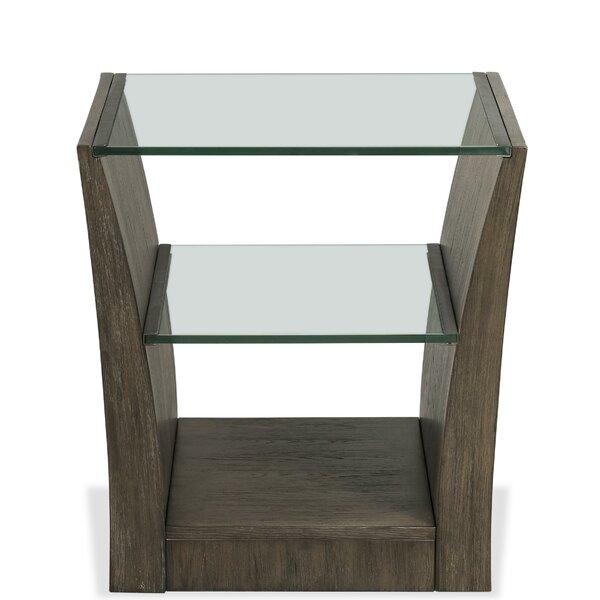 Cloverdale Floor Shelf End Table By Brayden Studio