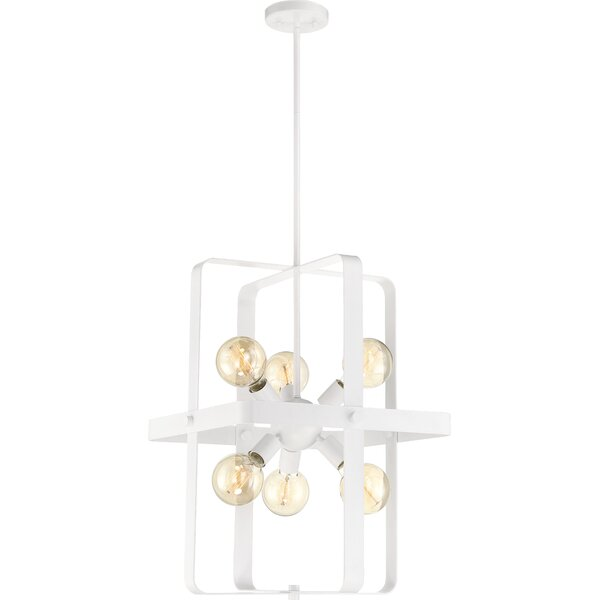 Finnerty 6-Light Geometric Rectangle / Square Chandelier By Brayden Studio