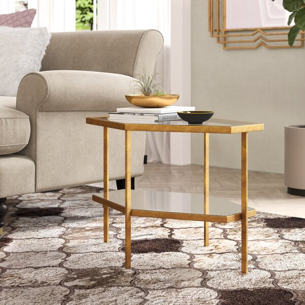 Rozell End Table by Willa Arlo Interiors