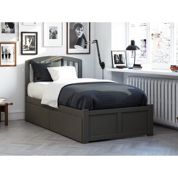 Timmy Extra Long Twin Bed with Drawers by Viv + Rae Viv + Rae