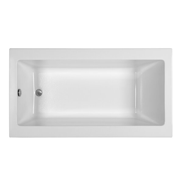 End Drain 66 x 36 Soaking Tub by Reliance