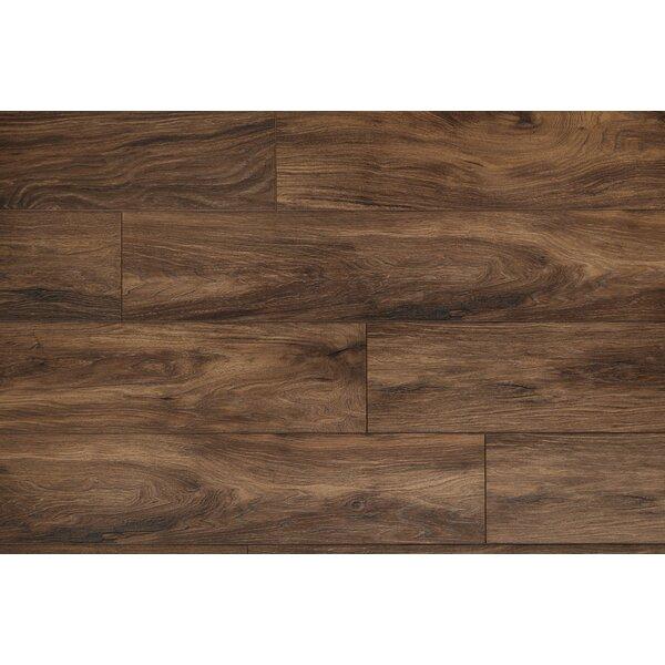 Restoration Wide Plank 8'' x 51'' x 12mm Laminate Flooring in Earth by Mannington