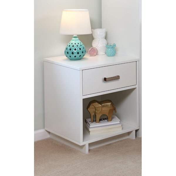 Tess 1 Drawer Nightstand by Latitude Run