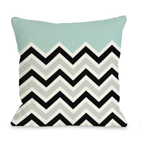 Chevron Throw Pillow by One Bella Casa