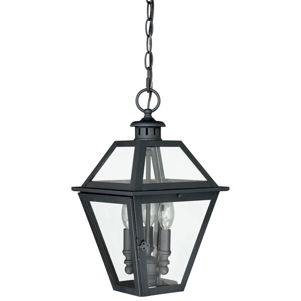 Gravesend 3-Light Outdoor Hanging Lantern by Sol 72 Outdoor
