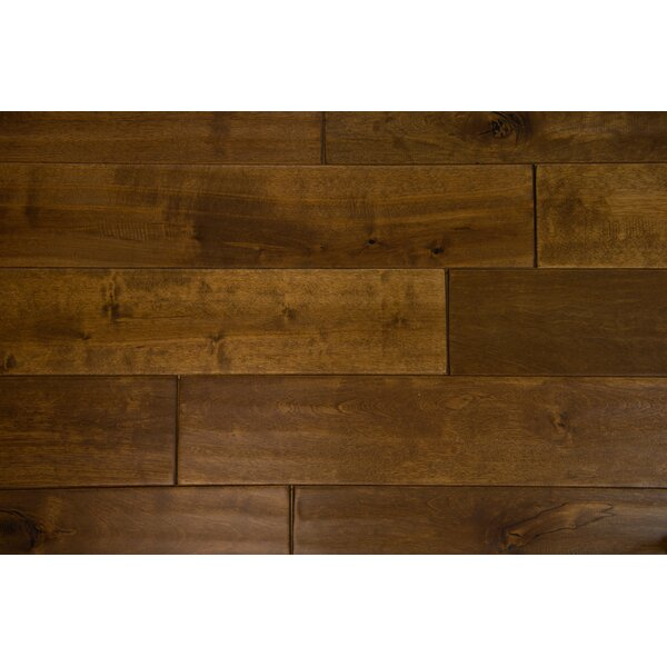Danube 4-3/4 Solid Birch Hardwood Flooring in Granola by Branton Flooring Collection