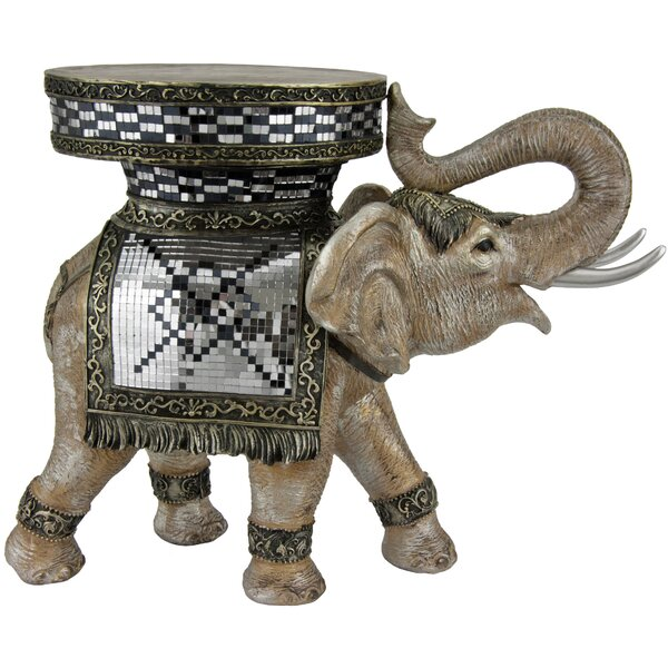 Sheets Standing Statue End Table By World Menagerie