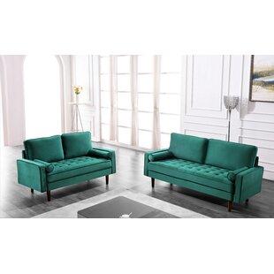 Hazen 2 Piece Living Room Set by Mercer41