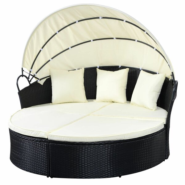Scarsdale Patio Daybed with Cushions by Latitude Run