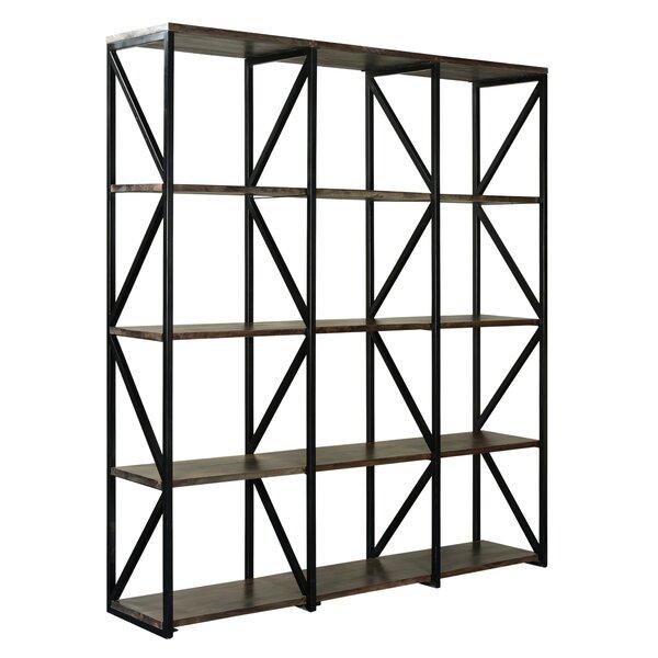 Alessandro Acacia Wood Standard Bookcase by Brayden Studio