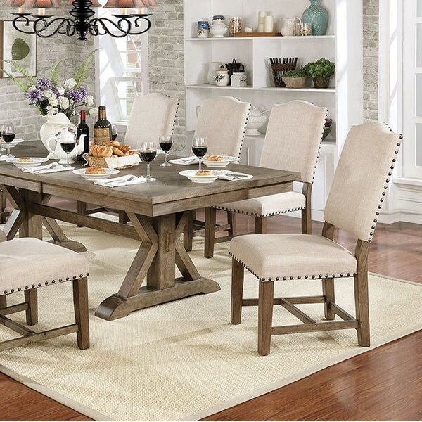 Katarina 9 Piece Drop Leaf Dining Set by One Allium Way