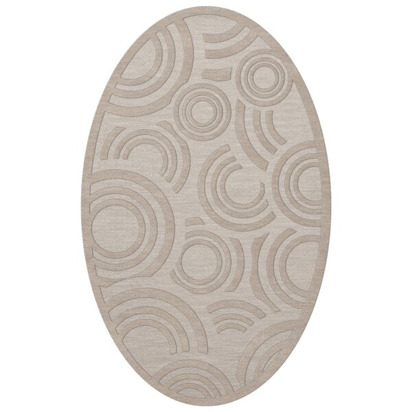 Dover Tufted Wool Putty Area Rug by Dalyn Rug Co.