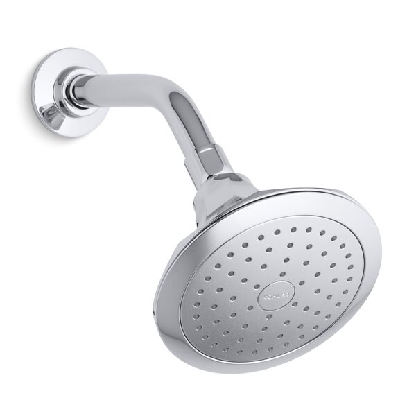 Memoirs 2.5 GPM Single-Function Wall-Mount Shower Head With Katalyst Air-Induction Spray By Kohler