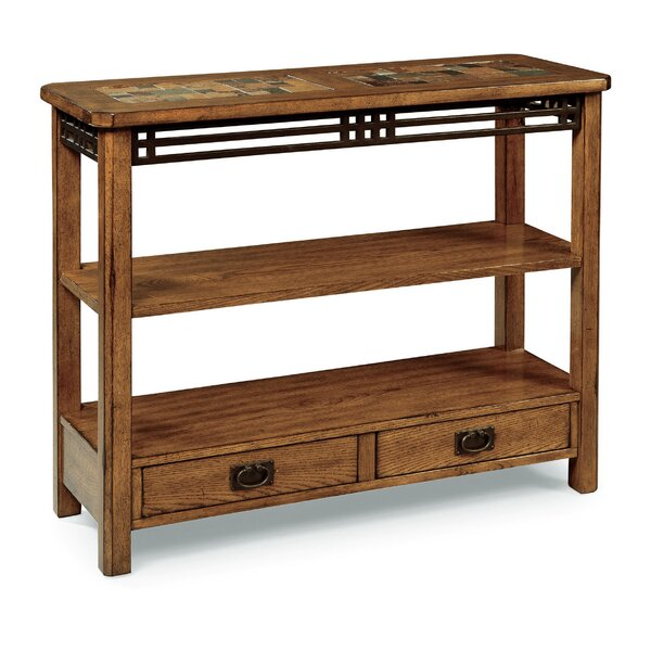 Coolkeeran 38-inch Solid Wood Console Table by World Menagerie World Menagerie