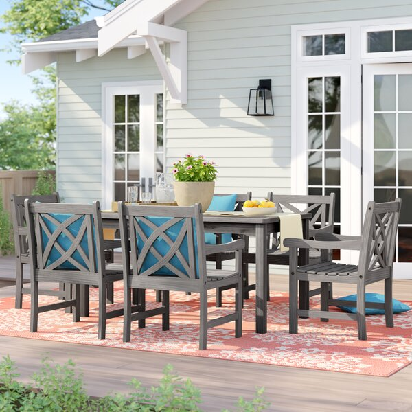 Monterry 7 Piece Dining Set by Beachcrest Home