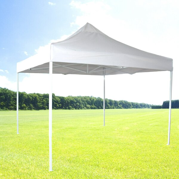 10 Ft. W x 10 Ft. D Steel Pop-Up Canopy by Zenport