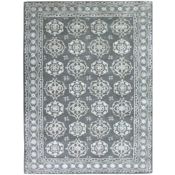 Zaida Hand-Tufted Blue Area Rug by Ophelia & Co.