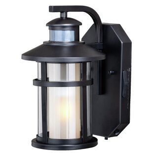 Engler Outdoor Wall Lantern With Motion Sensor
