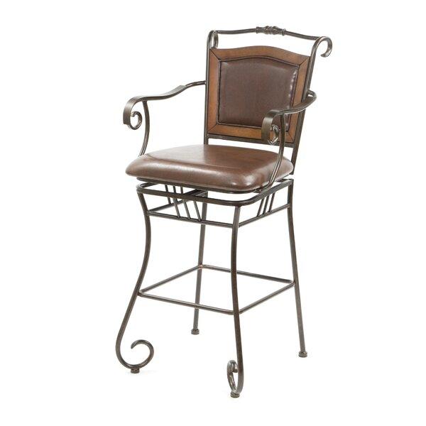 Mandell 29 Swivel Bar Stool by Darby Home Co