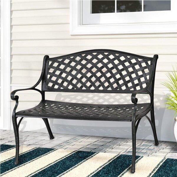 Binne Aluminum Garden Bench
